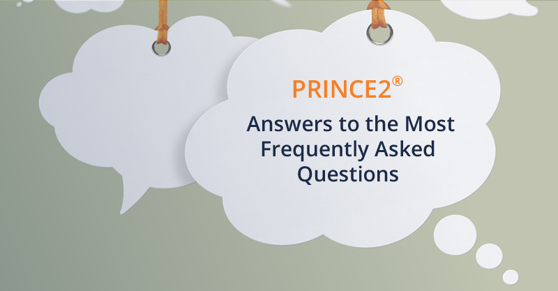 PRINCE2 Frequently Asked Questions